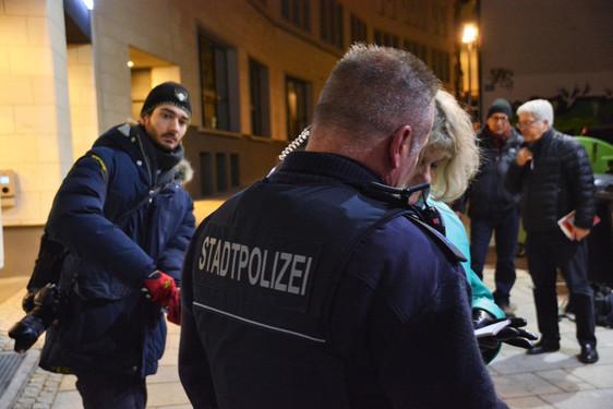 Polizeikontrolle Wiesbaden