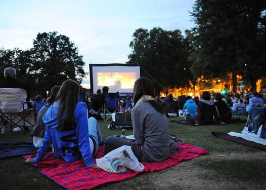 Reisinger Anlagen Open Air Kino