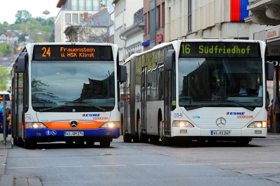 Wiesbadenaktuell Engere Taktung Verlängerte Buslinien Und