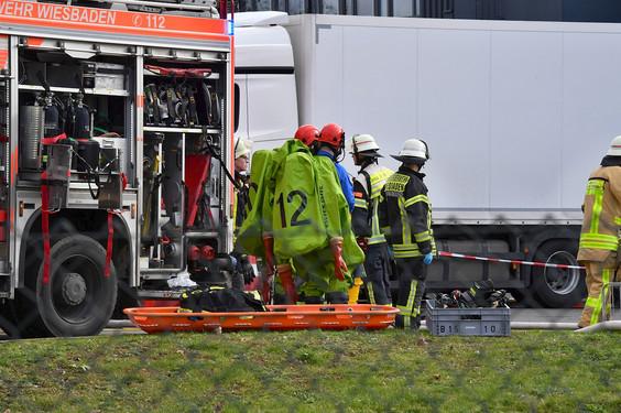 Feuerwehreinsatz Wiesbaden Heute