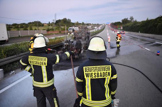 Feuerwehreinsatz Wiesbaden