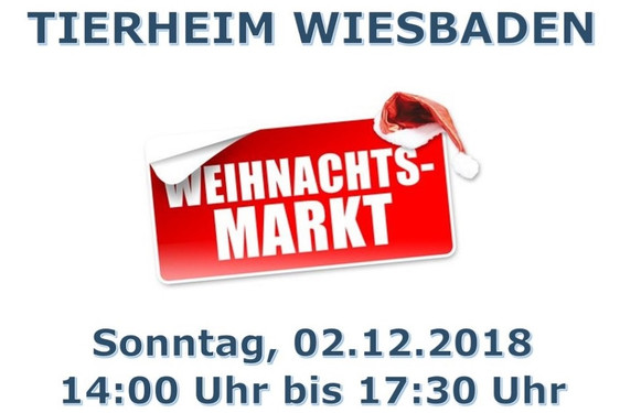 1 Advent Weihnachtsmarkt.Wiesbadenaktuell Das Tierheim Wiesbaden öffnet Seine Türen Zum 1