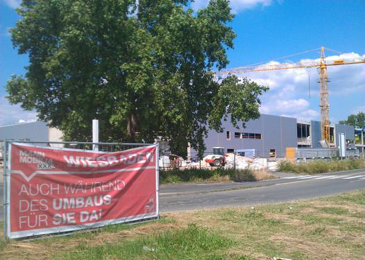 Wiesbadenaktuell Xxxl Möbelhaus Wird Kleiner Als Geplant