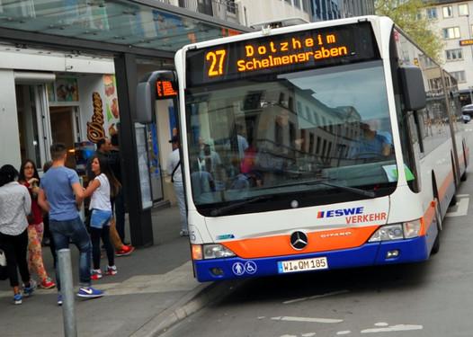 Mainz Verkehrslage