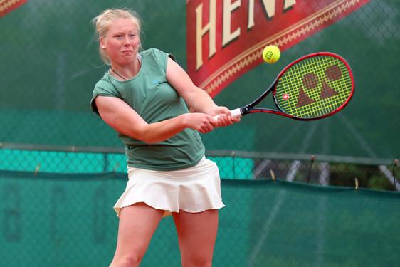 Satz Beim Tennis